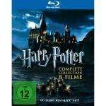 Harry Potter - The Complete 8-Film Collection [Blu-ray] [2011]
