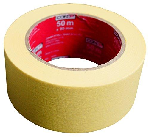 CON:P Kreppband 50 m x 50 mm - Extra breit
