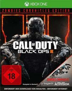 Call of DutyBlack Ops III Zombies Chronicles Edition (Xbox One & PS4) für je 14,99€ (GameStop)