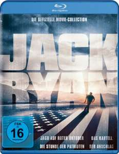 Jack Ryan Collection (4-Film-Set Blu-ray) für 8,99€ (Amazon Prime & Saturn)