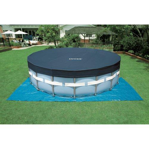 """Intex™ - Frame Pool Set """"Prism Rondo 457x84 cm"""" (inkl.Filter,Pumpe,Leiter,Abdeckung,Bodentuch) für €117.- [@Real.de]"""