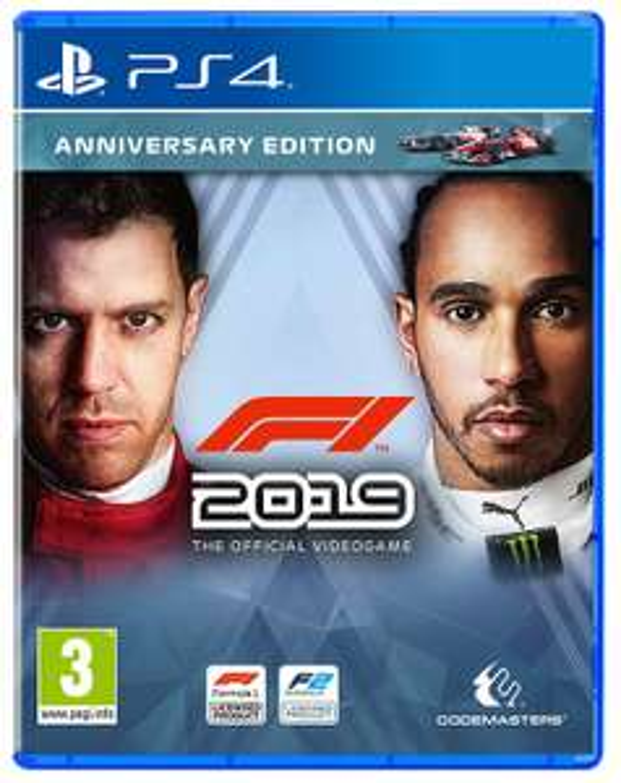 F1 2019 - Jubiläums Edition (PS4) für 36,52€ (Amazon UK)
