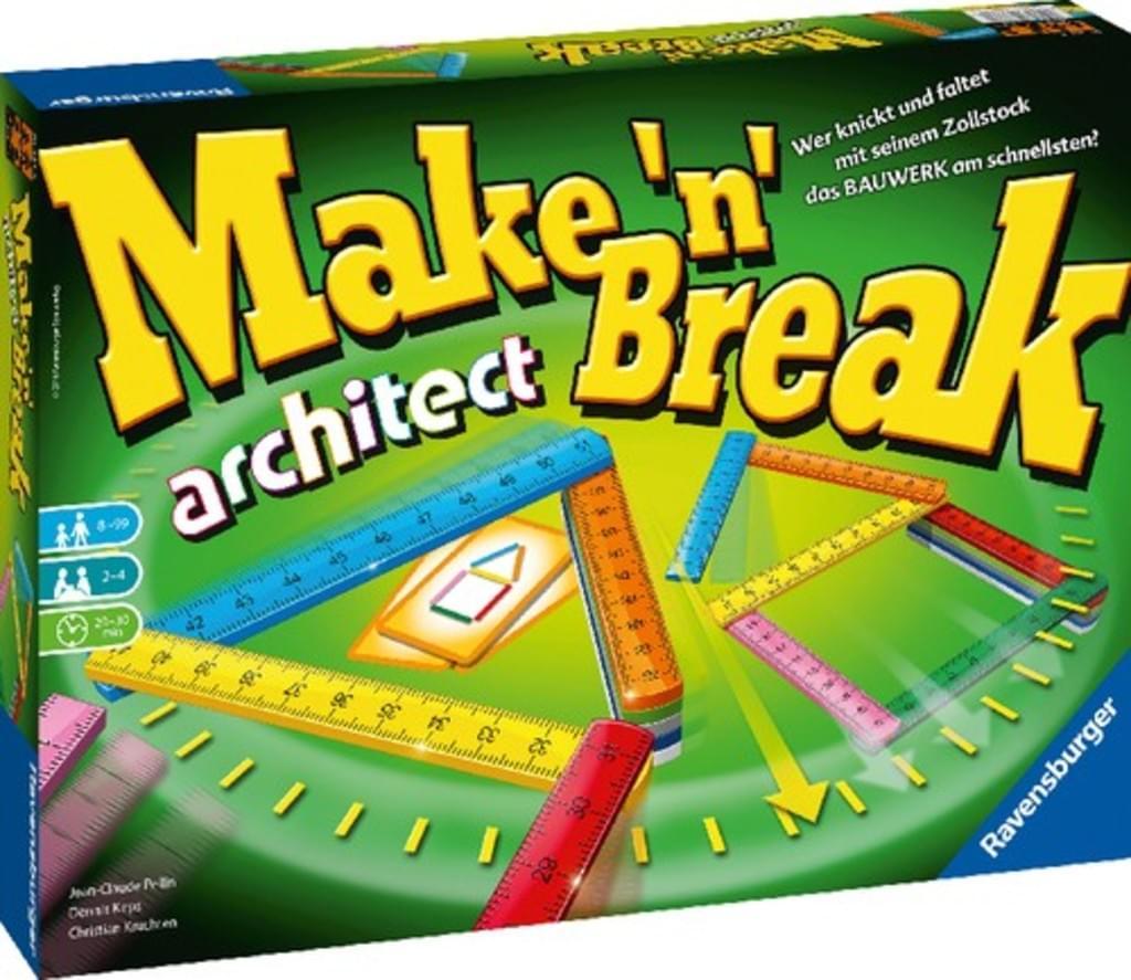 """Ravensburger™ - Gesellschaftsspiel """"Make 'n' Break Architect"""" für €9,97 (Versandkostenfrei) [@Real.de]"""