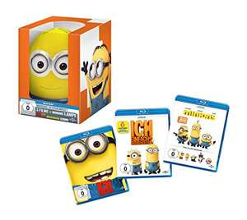 Ich - Einfach unverbesserlich 1+2 + Minions 3-Film Collection Limited Minions Geschenkset Edition (Blu-ray) für 16,99€ (Amazon Prime)