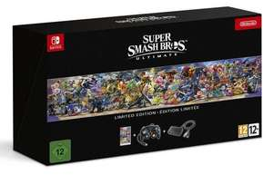 Nintendo Switch: Super Smash Bros Ultimate Limited Edition - Otto