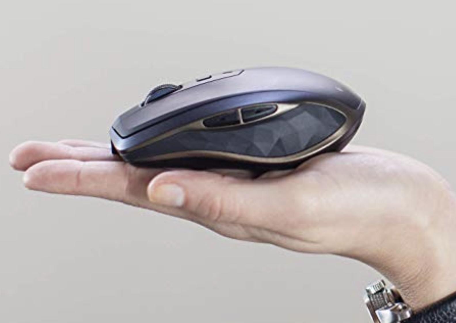 Logitech MX Anywhere 2 AMZ wireless Bluetooth Maus für Windows und Mac schwarz