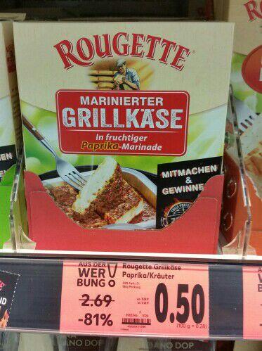 [Lokal Kaufland BM] Rougette Marinierte Grillkäse mit Paprika Marinade