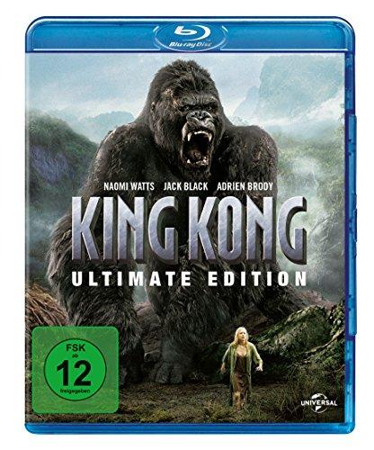 King Kong - Ultimate Edition (Blu-ray + Bonus Disc) für 7,99€ (Amazon Prime & Dodax)