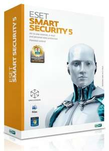 Eset Smart Security 5/3 User Lizenz für 15€@ expert Steinfurt
