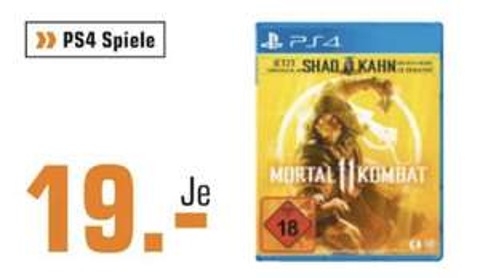 [Lokal: Saturn Braunschweig] Mortal Kombat 11 (PS4)   Fritz!Box 7490 + DECT200 Steckdose für 149€   Fitbit Versa SE für 100€   u.a. Angebote