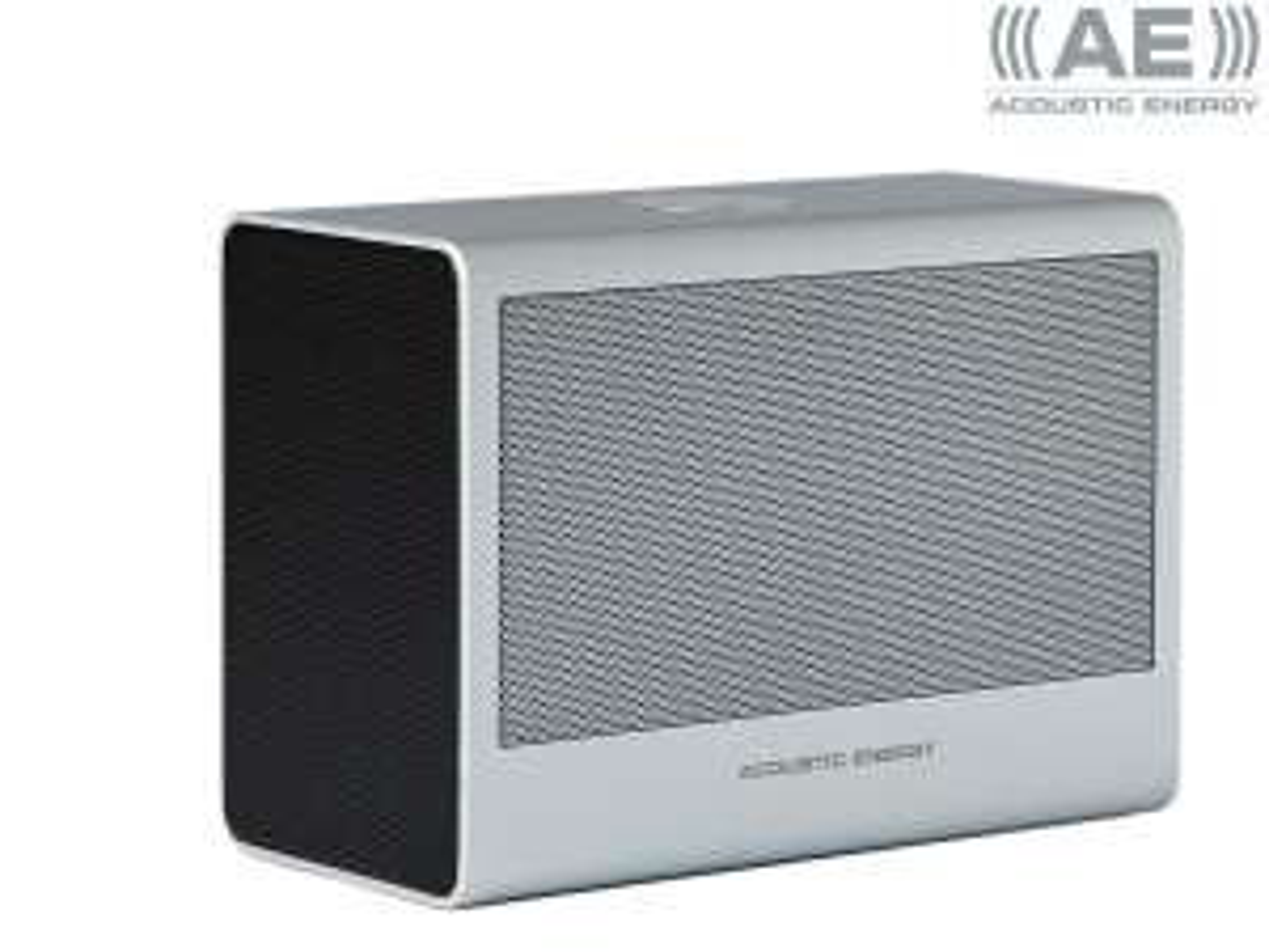 "Acoustic Energy Bluetooth-Lautsprecher ""Aego BT2"" (40 Watt RMS, Aluminiumgehäuse, Bis zu 36 Stunden Akkulaufzeit) [iBOOD]"