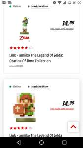 Amiibos The Legend of Zelda-Serie