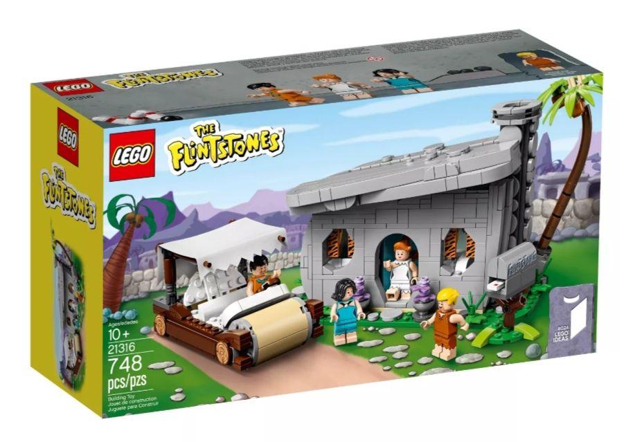 Lego Ideas 21316 The Flintstones und Harry Potter Hagrids Hütte 75947 bei Smyths