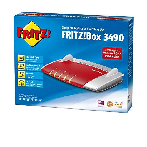 AVM Fritz!Box 3490 Router (internationale Version)