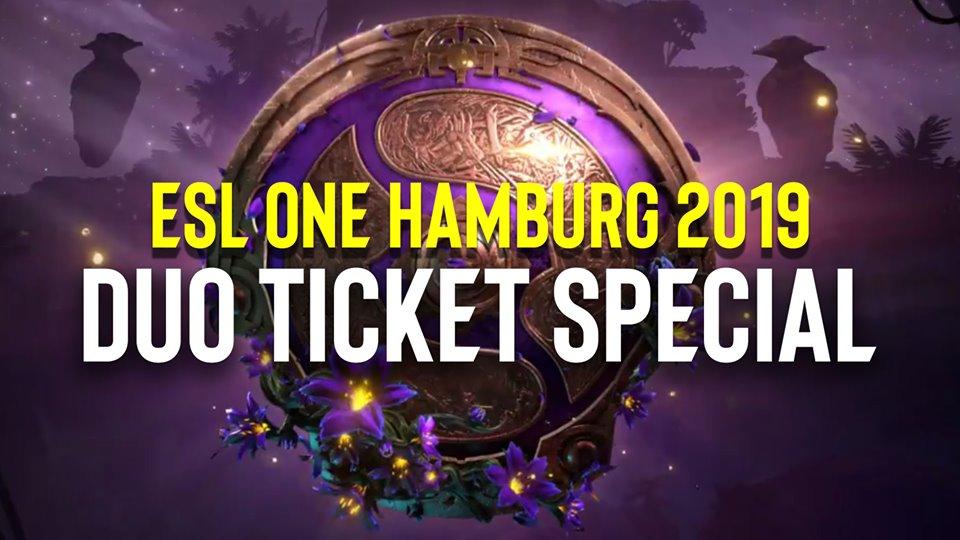 DotA 2 - ESL One Hamburg 2019 | 2 for 1