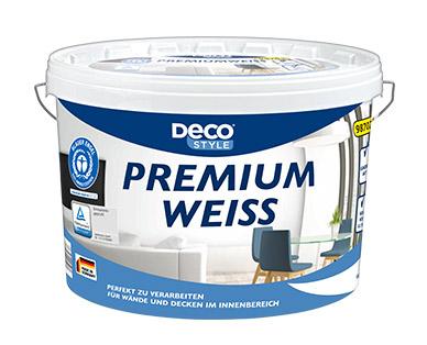 Aldi-Süd 22.08: Deco Style Premiumweiß - 11L Dispersionsfarbe