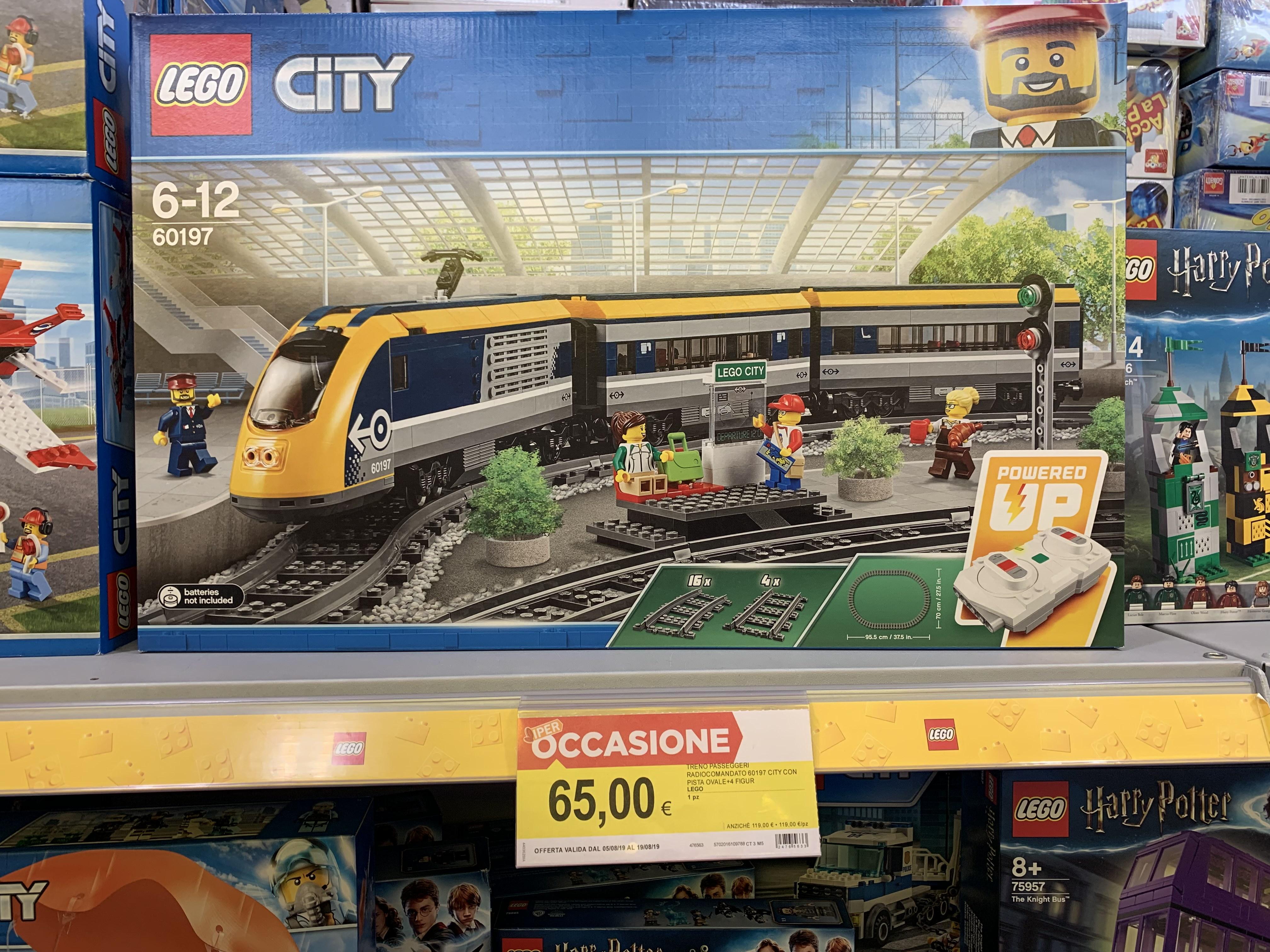 LOKAL GARDASEE Italien - Lego Personenzug 60197