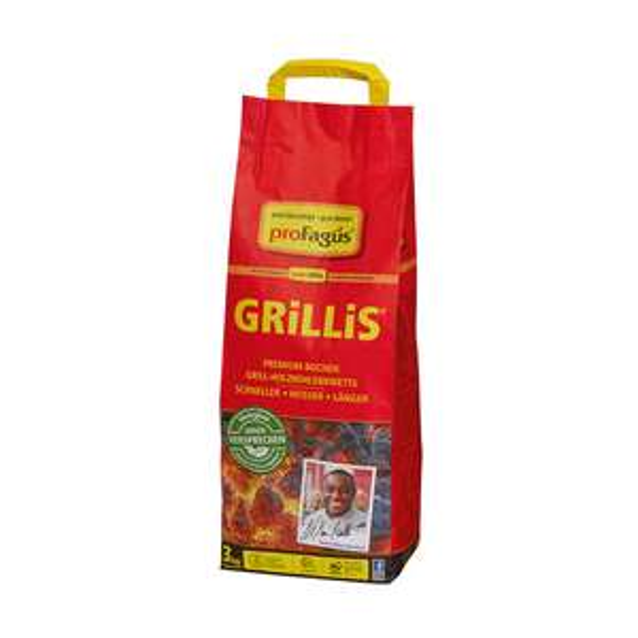 Kodi: Kohle für wenig Kohle - proFagus Grillies Premium Buchen Briketts