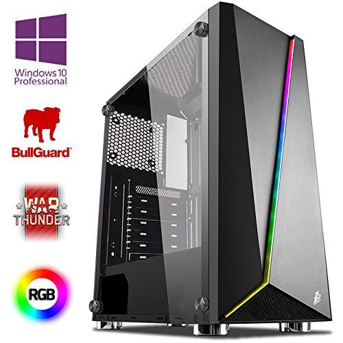 VIBOX Pyro Gaming PC mit Ryzen 7-3700X / Geforce GTX 1050 Ti / 16GB Ram / 120GB SSD, 2TB HDD / Win 10 Pro