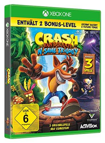 Crash Bandicoot N.Sane Trilogy (Xbox One) für 24,99€ oder Digital für 19,99€ (Amazon Prime & Müller & Xbox Store)