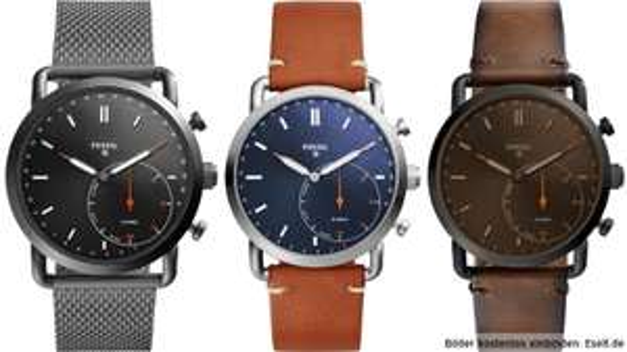 "Fossil™ - Herren Hybrid Q Smartwatch ""Commuter"" (FTW1151/FTW1161/FTW1149) ab €76,63 [@Karstadt.de]"