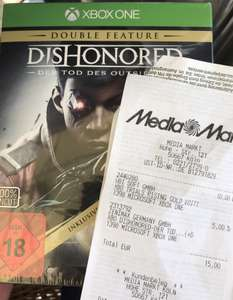(MM Köln) Dishonored: Der Tod des Outsiders Double Feature (PS4/X1)