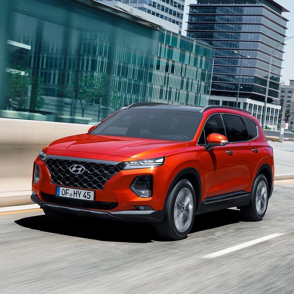 [Gewerbeleasing] Hyundai Santa Fe 2.4 GDI Premium 4WD (185 PS) mit Automatik mtl. 198€ (netto) / 235,63€ (brutto), 48 Monate, LF 0,48