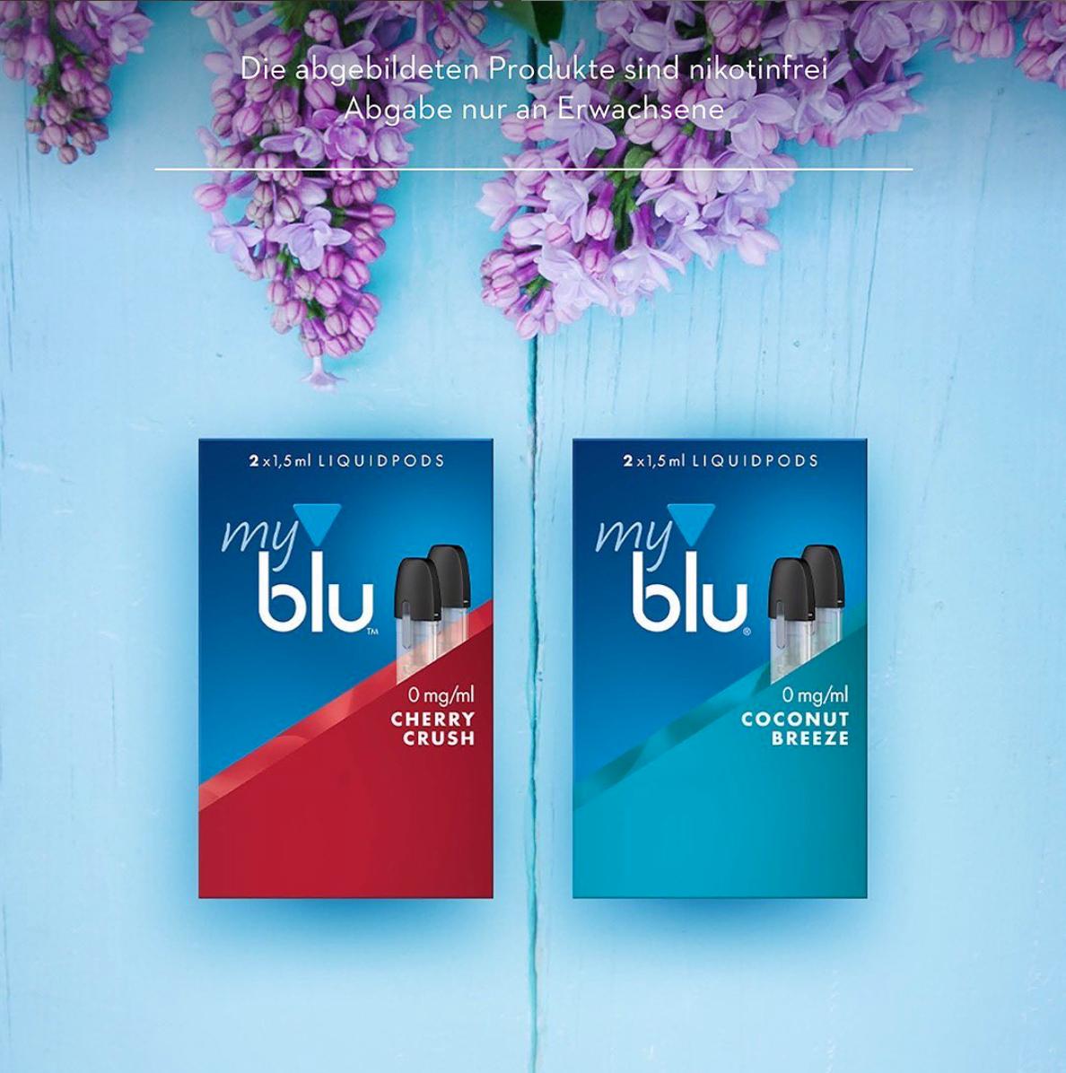 MyBlu Liquidpods gratis