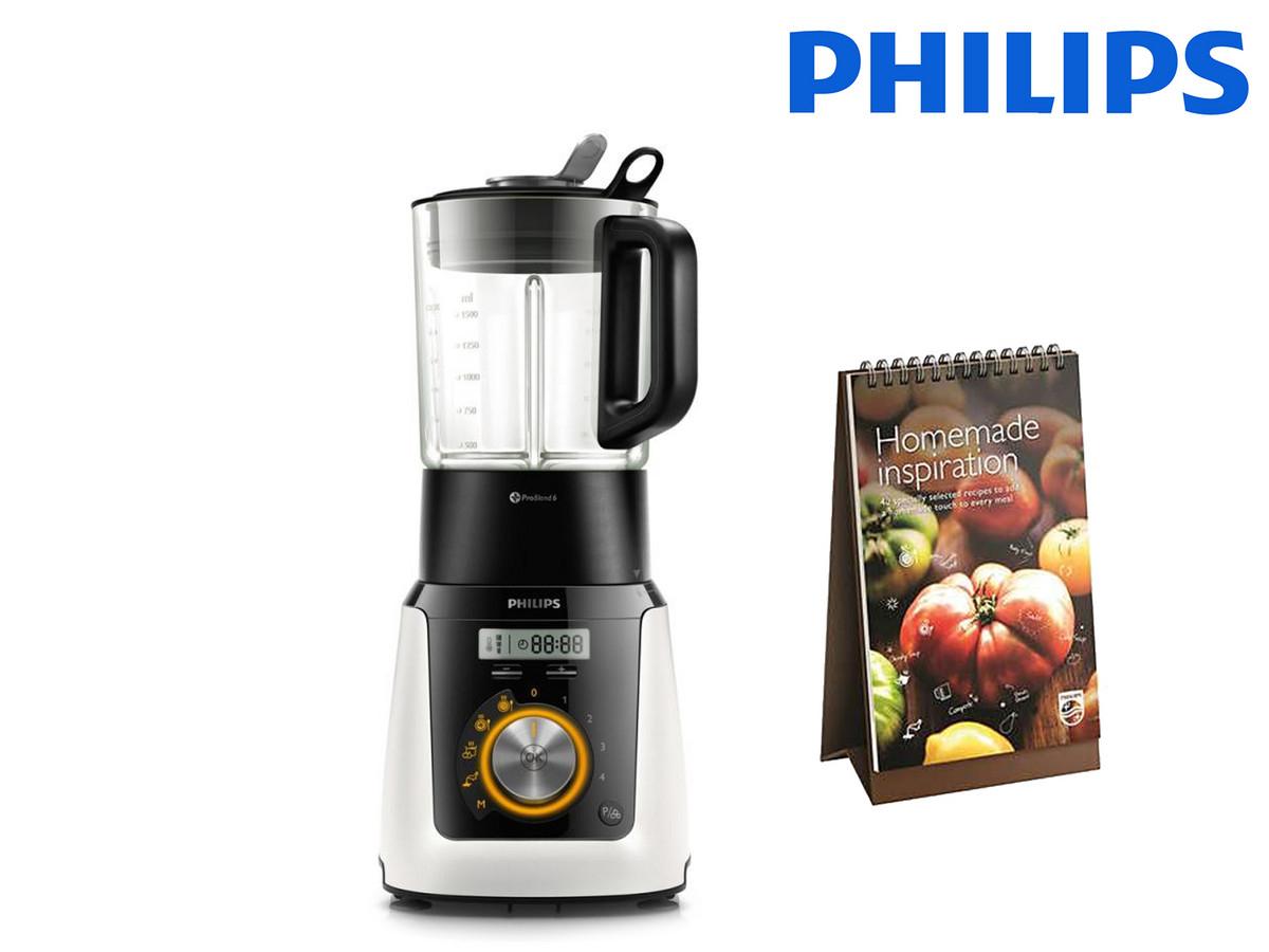"""Philips Standmixer mit Kochfunktion """"HR2098/30"""" (1100 Watt, 2-L Behälter) [iBOOD]"""