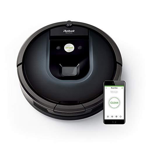 iRobot Roomba 981 Saugroboter (ideal für Teppiche durch hohe Saugkraft, Teppich-Turbo-Modus [Amazon]