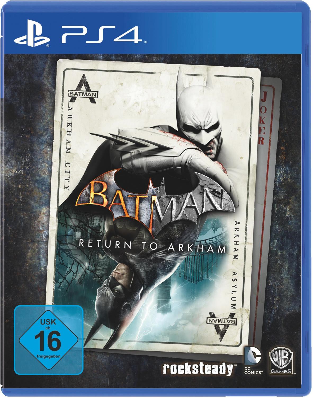Batman: Return to Arkham (PS4) für 14,99€ (Amazon Prime)