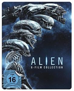 Alien 1-6 (6-Film Collection) Limited Steelbook Edition (Blu-ray) für 24,99€ (Amazon Prime)