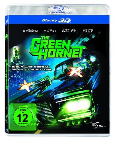 The Green Hornet 3D (Blu-ray 3D) für 6,99€ (Amazon Prime & Saturn)