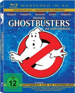 Ghostbusters (Mastered in 4K Blu-ray) für 6,09€ (Amazon Prime)