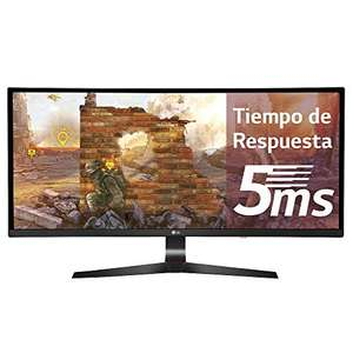 "LG 34UC89G - 34"" UltraWide Curved Gaming Monitor mit NVidia G-Sync (2560x1080, IPS, 166Hz OC, 300cd/m², USB-Hub, höhenverstellbar)"