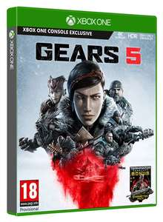 Gears 5 + Terminator Dark Fate Character Pack (Xbox One) für 40€ (Shopto)