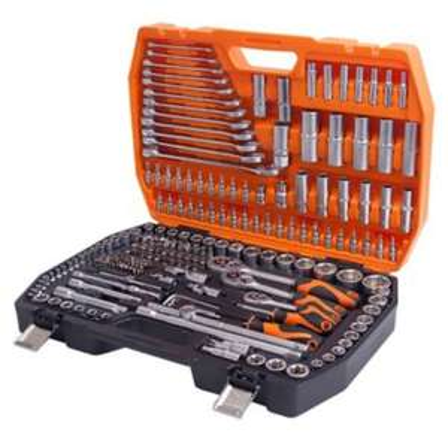 [SCREWFIX]  Kendo 216 tlg. Mechaniker-Werkzeugset im Koffer