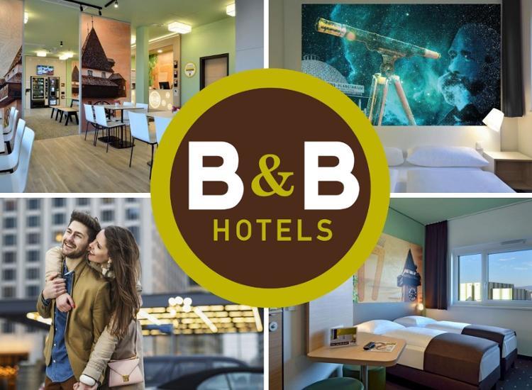 B&B Hotelgutschein 3Tage 2 Übernachtungen inkl. Frühstück für 2 Personen