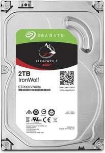 Seagate Ironwolf Festplatten Deal bei Alternate (z.B. Ironwolf 2TB)