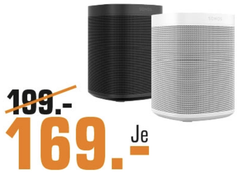 Lokal Saturn Mainz Wiesbaden: SONOS One Smart Speaker mit Alexa Sprachsteuerung & AirPlay für 169€