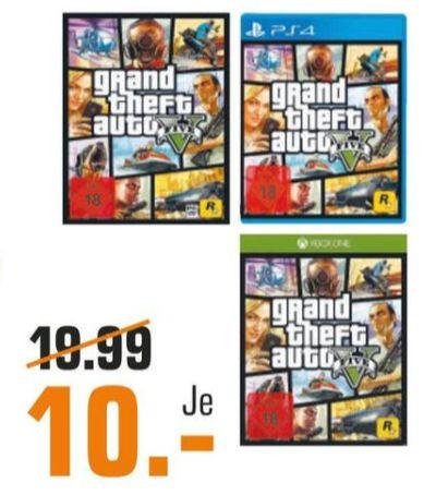 [Regional Saturn Regensburg] Grand Theft Auto 5 für PS4,Xbox One oder PC für je 10,-€