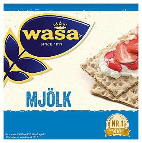 [PRIME] Wasa Knäckebrot Mjölk, 12er Pack (12 x 230g)