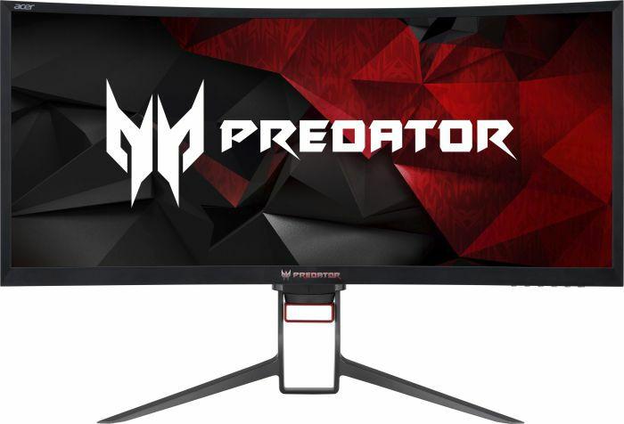 "Acer Predator Z35P Curved Monitor 35"" - 21:9, 3440x1440, VA Panel, 300cd/m², 100% sRGB, 8bit, 120Hz, G-sync, Pivot, USB-Hub (Amazon)"