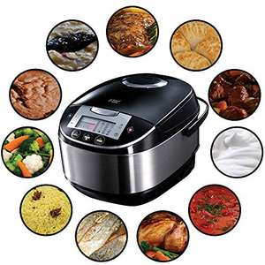 Russell Hobbs Multicooker 5,0l (digitales Display + Timer) Amazon