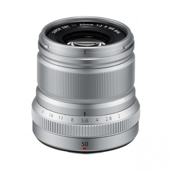 Fujifilm FUJINON XF50mm F2 R WR Objektiv silber