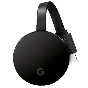 [MediaMarkt ebay] Details zu  GOOGLE Chromecast Ultra Streaming Player, Schwarz