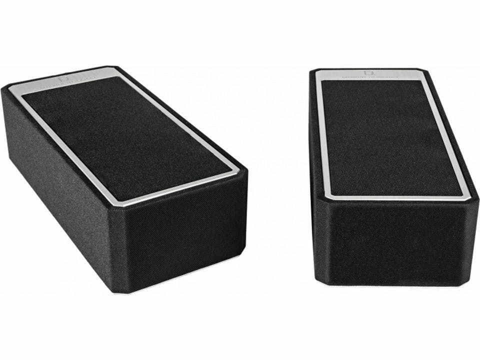 Definitive Tech A90 Dolby Atmos-Lautsprecher (Paarpreis, 2-Wege, 2,54cm Hochtöner, 11,43cm Mitteltöner, 86Hz - 40kHz, 86.5dB, 8Ω, DTS:X)