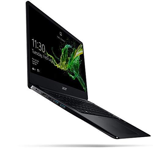 Acer Swift 1 - 14 Zoll Full-HD IPS matt - Ultrabook (Intel Pentium N5000, 8 GB RAM, 256 GB SSD, Intel UHD, Win 10) schwarz