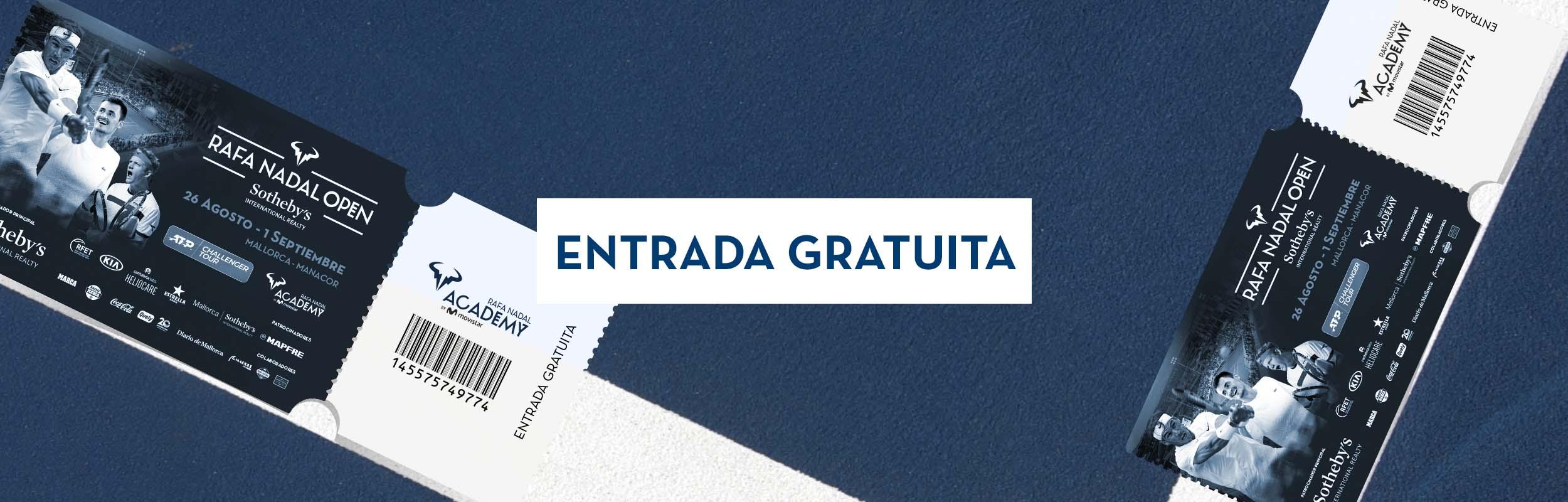 [Mallorca] Gratis zu den Rafa Nadal Open 26.08. - 01.09. z.B. mit Andy Murray, Mischa Zverev