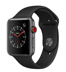 Apple Watch Series 3 42mm GPS+Cellular schwarz Sportarmband